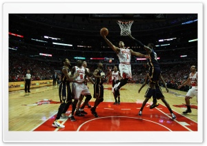 NBA Basketball Chicago Bulls HD Wide Wallpaper for Widescreen