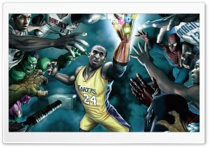 NBA Marvel HD Wide Wallpaper for Widescreen