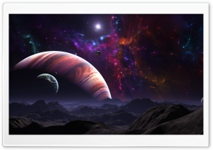 Nebula HD Wide Wallpaper for Widescreen