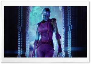 Nebula - Guardians Of The Galaxy 2014 Movie HD Wide Wallpaper for Widescreen