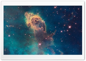 Nebula by Hubble HD Wide Wallpaper for Widescreen