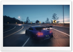 Need For Speed 2015 Nissan GTR HD Wide Wallpaper for 4K UHD Widescreen desktop & smartphone