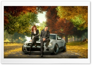 Need for Speed - The Run Autumn (HD) HD Wide Wallpaper for Widescreen
