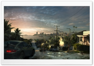 Need For Speed City HD Wide Wallpaper for Widescreen