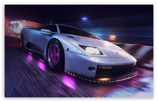 Need For Speed Heat Video Game Ultra Hd Desktop Background