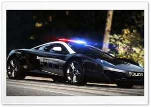 Need for Speed Hot Pursuit Police Car HD Wide Wallpaper for Widescreen