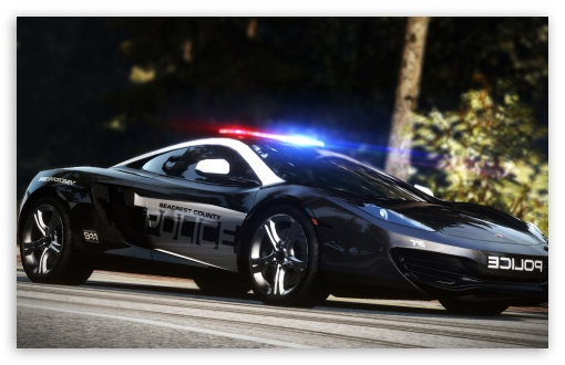 Need for Speed Hot Pursuit Police Car HD wallpaper for Wide 16:10 5:3 Widescreen WHXGA WQXGA WUXGA WXGA WGA ; HD 16:9 High Definition WQHD QWXGA 1080p 900p 720p QHD nHD ; Mobile 5:3 16:9 - WGA WQHD QWXGA 1080p 900p 720p QHD nHD ;
