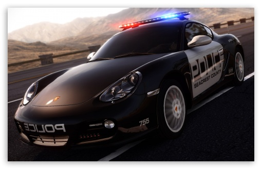 Need For Speed Hot Pursuit Porsche Police Car HD wallpaper for Wide 16:10 5:3 Widescreen WHXGA WQXGA WUXGA WXGA WGA ; HD 16:9 High Definition WQHD QWXGA 1080p 900p 720p QHD nHD ; Mobile 5:3 16:9 - WGA WQHD QWXGA 1080p 900p 720p QHD nHD ;