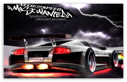 Need For Speed Most Wanted Racing Game HD wallpaper for Wide 16:10 5:3 Widescreen WHXGA WQXGA WUXGA WXGA WGA ; Other 3:2 DVGA HVGA HQVGA devices ( Apple PowerBook G4 iPhone 4 3G 3GS iPod Touch ) ; Mobile WVGA iPhone PSP - WVGA WQVGA Smartphone ( HTC Samsung Sony Ericsson LG Vertu MIO ) HVGA Smartphone ( Apple iPhone iPod BlackBerry HTC Samsung Nokia ) Sony PSP Zune HD Zen ;