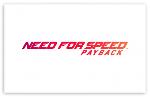 Download Need For Speed Payback Logo UltraHD Wallpaper
