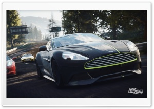 Need for Speed Rivals Aston Vanquish In The Lead HD Wide Wallpaper for Widescreen