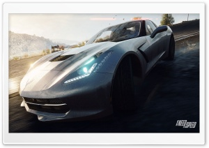 Need For Speed Rivals Corvette Stingray HD Wide Wallpaper for Widescreen