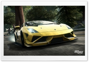 Need For Speed Rivals Lamborghini HD Wide Wallpaper for Widescreen