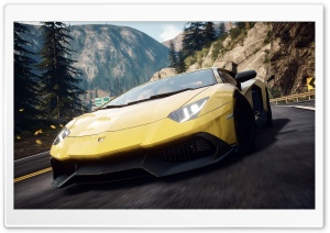 Need For Speed Rivals Lamborghini Aventador HD Wide Wallpaper for Widescreen