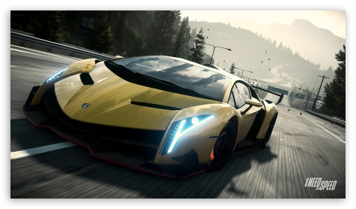 Download Need For Speed Rivals Lamborghini Veneno HD Wallpaper