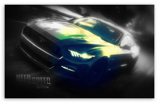 Download NEED FOR SPEED RIVALS Mustang UltraHD Wallpaper