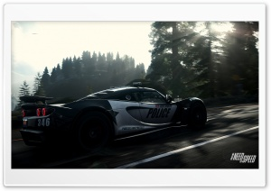 Need for Speed Rivals Police Car HD Wide Wallpaper for Widescreen