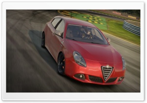 Need For Speed Shift 2, Alfa Romeo Giulietta Qv HD Wide Wallpaper for Widescreen