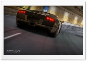 Need For Speed Shift 2 Unleashed, Lamborghini Murcielago LP640 HD Wide Wallpaper for Widescreen