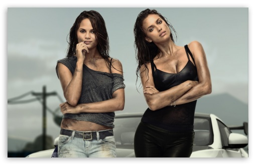 Need for Speed The Run   Irina Shayk and Chrissy Teigen HD wallpaper for Wide 16:10 5:3 Widescreen WHXGA WQXGA WUXGA WXGA WGA ; HD 16:9 High Definition WQHD QWXGA 1080p 900p 720p QHD nHD ; Standard 4:3 5:4 3:2 Fullscreen UXGA XGA SVGA QSXGA SXGA DVGA HVGA HQVGA devices ( Apple PowerBook G4 iPhone 4 3G 3GS iPod Touch ) ; Tablet 1:1 ; iPad 1/2/Mini ; Mobile 4:3 5:3 3:2 16:9 5:4 - UXGA XGA SVGA WGA DVGA HVGA HQVGA devices ( Apple PowerBook G4 iPhone 4 3G 3GS iPod Touch ) WQHD QWXGA 1080p 900p 720p QHD nHD QSXGA SXGA ;