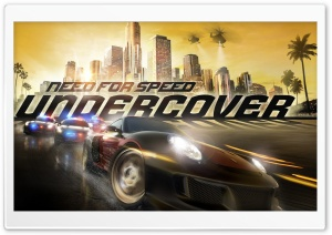 Need For Speed Undercover Ultra HD Wallpaper for 4K UHD Widescreen desktop, tablet & smartphone