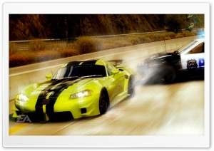 Need for Speed Undercover Chase HD Wide Wallpaper for Widescreen
