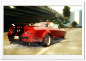 Need for Speed Undercover Shelby HD Wide Wallpaper for Widescreen