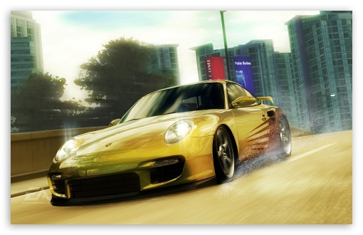 Need for Speed Undercover Yellow Porsche HD wallpaper for Wide 16:10 5:3 Widescreen WHXGA WQXGA WUXGA WXGA WGA ; HD 16:9 High Definition WQHD QWXGA 1080p 900p 720p QHD nHD ; Standard 4:3 Fullscreen UXGA XGA SVGA ; iPad 1/2/Mini ; Mobile 4:3 5:3 16:9 - UXGA XGA SVGA WGA WQHD QWXGA 1080p 900p 720p QHD nHD ;