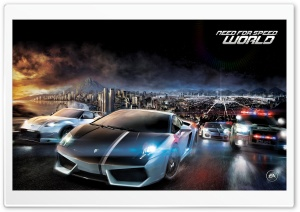 Need for Speed World HD Wide Wallpaper for Widescreen