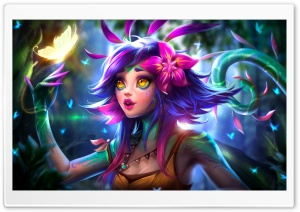 Neeko LOL League of Legends Ultra HD Wallpaper for 4K UHD Widescreen desktop, tablet & smartphone