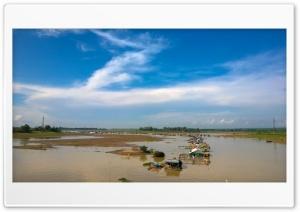 Neighbour in river Ultra HD Wallpaper for 4K UHD Widescreen desktop, tablet & smartphone