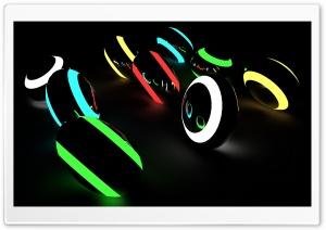 Neon Balls HD Wide Wallpaper for Widescreen