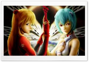 Neon Genesis Evangelion Ayanami Raising Project Ultra HD Wallpaper for 4K UHD Widescreen desktop, tablet & smartphone
