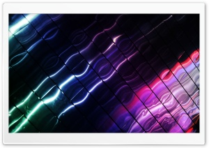 Neon Reflections HD Wide Wallpaper for Widescreen