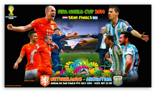 NETHERLANDS - ARGENTINA  SEMI-FINALS WORLD CUP 2014 ❤ 4K UHD Wallpaper for 4K UHD 16:9 Ultra High Definition 2160p 1440p 1080p 900p 720p ; Mobile 16:9 - 2160p 1440p 1080p 900p 720p ;