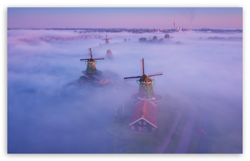 Netherlands Traditional Windmills Fog ❤ 4K UHD Wallpaper for Wide 16:10 5:3 Widescreen WHXGA WQXGA WUXGA WXGA WGA ; UltraWide 21:9 ; 4K UHD 16:9 Ultra High Definition 2160p 1440p 1080p 900p 720p ; Standard 4:3 5:4 3:2 Fullscreen UXGA XGA SVGA QSXGA SXGA DVGA HVGA HQVGA ( Apple PowerBook G4 iPhone 4 3G 3GS iPod Touch ) ; Smartphone 16:9 3:2 5:3 2160p 1440p 1080p 900p 720p DVGA HVGA HQVGA ( Apple PowerBook G4 iPhone 4 3G 3GS iPod Touch ) WGA ; Tablet 1:1 ; iPad 1/2/Mini ; Mobile 4:3 5:3 3:2 16:9 5:4 - UXGA XGA SVGA WGA DVGA HVGA HQVGA ( Apple PowerBook G4 iPhone 4 3G 3GS iPod Touch ) 2160p 1440p 1080p 900p 720p QSXGA SXGA ;