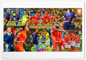 NETHERLANDS WORLD CUP 2014 HD Wide Wallpaper for Widescreen
