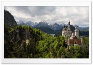 Neuschwanstein Castle HD Wide Wallpaper for 4K UHD Widescreen desktop & smartphone