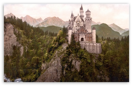 Neuschwanstein Castle, Bavaria, Germany HD wallpaper for Wide 16:10 5:3 Widescreen WHXGA WQXGA WUXGA WXGA WGA ; HD 16:9 High Definition WQHD QWXGA 1080p 900p 720p QHD nHD ; Standard 4:3 5:4 Fullscreen UXGA XGA SVGA QSXGA SXGA ; MS 3:2 DVGA HVGA HQVGA devices ( Apple PowerBook G4 iPhone 4 3G 3GS iPod Touch ) ; Mobile VGA WVGA iPhone iPad PSP Phone - VGA QVGA Smartphone ( PocketPC GPS iPod Zune BlackBerry HTC Samsung LG Nokia Eten Asus ) WVGA WQVGA Smartphone ( HTC Samsung Sony Ericsson LG Vertu MIO ) HVGA Smartphone ( Apple iPhone iPod BlackBerry HTC Samsung Nokia ) Sony PSP Zune HD Zen ; Tablet 1&2 Android Retina ;