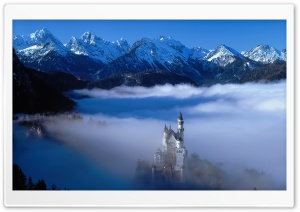 Neuschwanstein Castle Germany HD Wide Wallpaper for 4K UHD Widescreen desktop & smartphone
