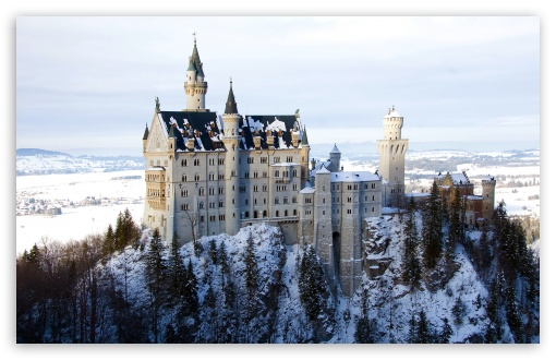 Neuschwanstein Castle in Germany, Winter ❤ 4K UHD Wallpaper for Wide 16:10 5:3 Widescreen WHXGA WQXGA WUXGA WXGA WGA ; 4K UHD 16:9 Ultra High Definition 2160p 1440p 1080p 900p 720p ; Standard 4:3 5:4 3:2 Fullscreen UXGA XGA SVGA QSXGA SXGA DVGA HVGA HQVGA ( Apple PowerBook G4 iPhone 4 3G 3GS iPod Touch ) ; Tablet 1:1 ; iPad 1/2/Mini ; Mobile 4:3 5:3 3:2 16:9 5:4 - UXGA XGA SVGA WGA DVGA HVGA HQVGA ( Apple PowerBook G4 iPhone 4 3G 3GS iPod Touch ) 2160p 1440p 1080p 900p 720p QSXGA SXGA ;