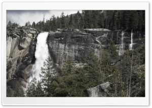Nevada Falls HD Wide Wallpaper for Widescreen