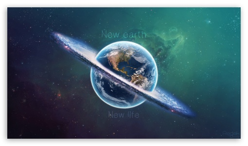 New Earth, New Life ❤ 4K UHD Wallpaper for 4K UHD 16:9 Ultra High Definition 2160p 1440p 1080p 900p 720p ; Mobile 16:9 - 2160p 1440p 1080p 900p 720p ;