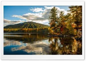 New England Fall Foliage HD Wide Wallpaper for Widescreen