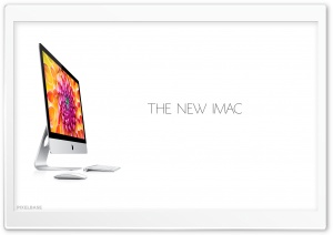 New iMac HD Wide Wallpaper for Widescreen
