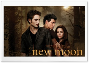 New Moon Twilight HD Wide Wallpaper for Widescreen