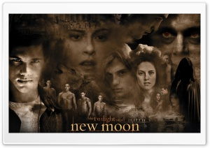 New Moon Twilight Movie HD Wide Wallpaper for 4K UHD Widescreen desktop & smartphone