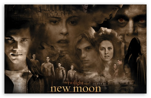 New Moon Twilight Movie HD wallpaper for Wide 16:10 5:3 Widescreen WHXGA WQXGA WUXGA WXGA WGA ; Standard 4:3 3:2 Fullscreen UXGA XGA SVGA DVGA HVGA HQVGA devices ( Apple PowerBook G4 iPhone 4 3G 3GS iPod Touch ) ; iPad 1/2/Mini ; Mobile 4:3 5:3 3:2 - UXGA XGA SVGA WGA DVGA HVGA HQVGA devices ( Apple PowerBook G4 iPhone 4 3G 3GS iPod Touch ) ;