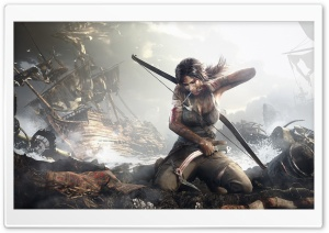 New Tomb Raider HD Wide Wallpaper for Widescreen