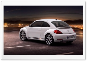 New Volkswagen Beetle HD Wide Wallpaper for 4K UHD Widescreen desktop & smartphone